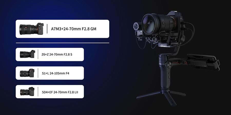 Zhiyun WEEBILL-S Handheld Gimbal Stabilizer fiyatý ve özellikleri inceleme